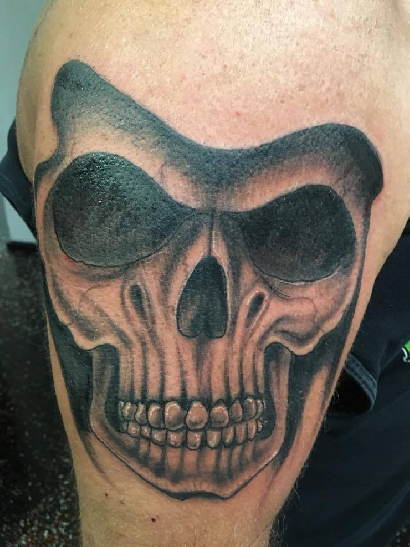 Lewter tattoos skull worldwide tattoo supply for World wide tattoo supply