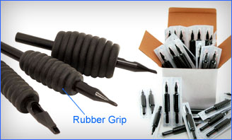 Rubber Gripped Disposable Tube