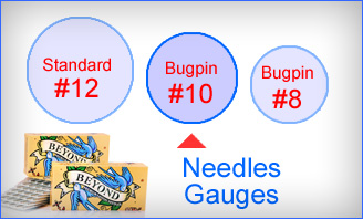 Beyond #10 Bugpin Needles