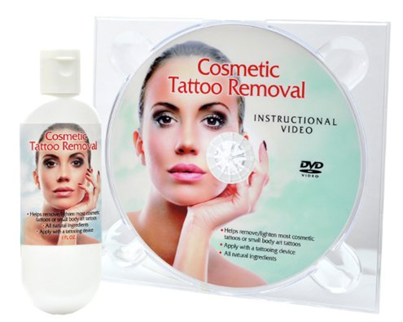 Cosmetic tattoo removal cosmetic dvd 39 s books for Tattoo removal products