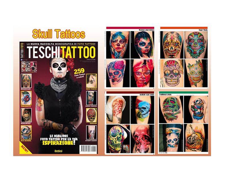 Skull reference book 10 reference books tattoo books for Tattoo reference books