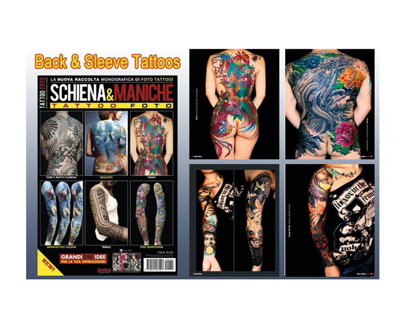Back sleeve reference book 10 reference books for Tattoo reference books