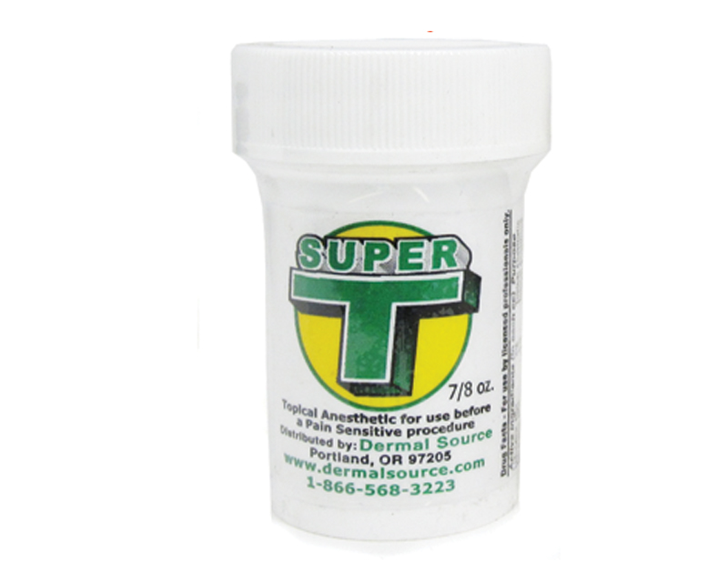 Anestetico topico super t super t numbing ointments for Topical analgesic for tattoos