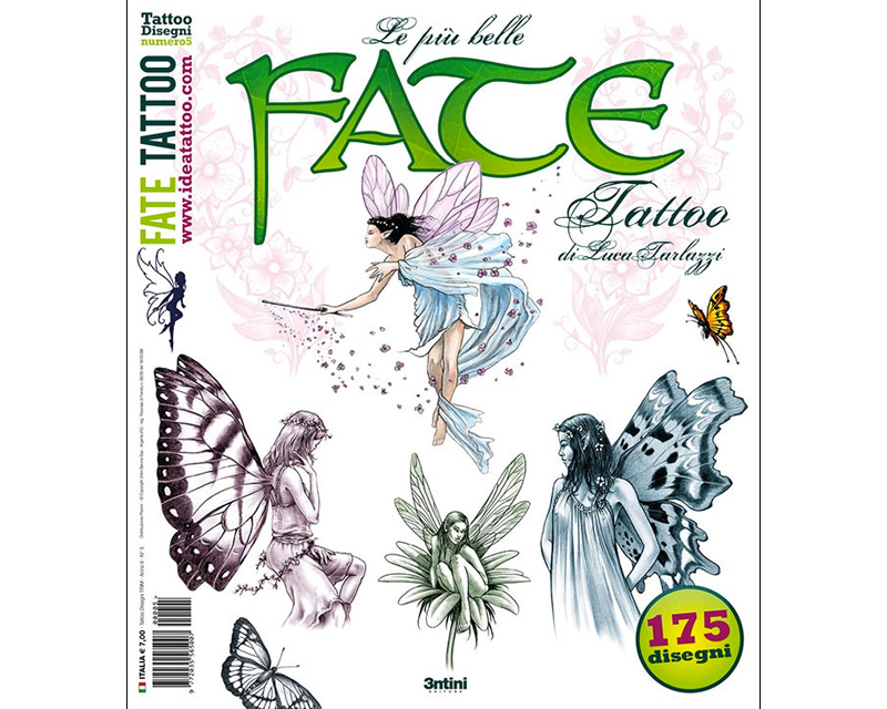 Fairy tattoo reference book 15 flash book tattoo for Tattoo reference books