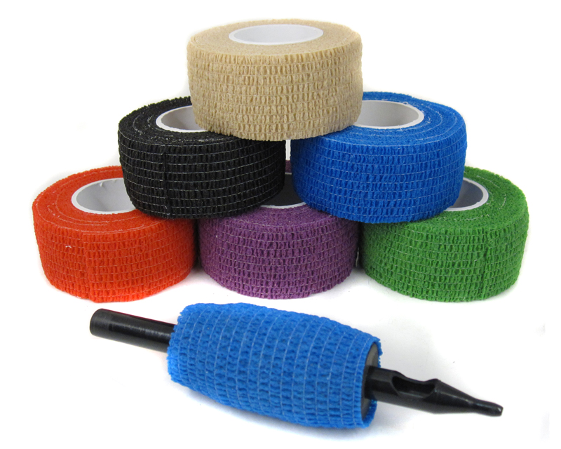 ultra cohesive grip wrap grip covers tattoo steel