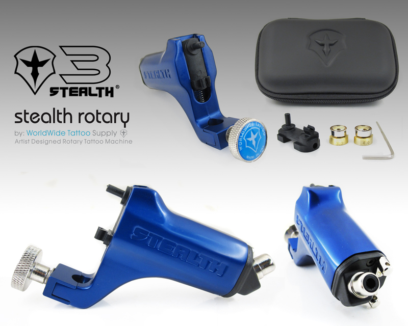 Stealth 3 0 Blue Stealth 3 0 Rotary Rotary Machines