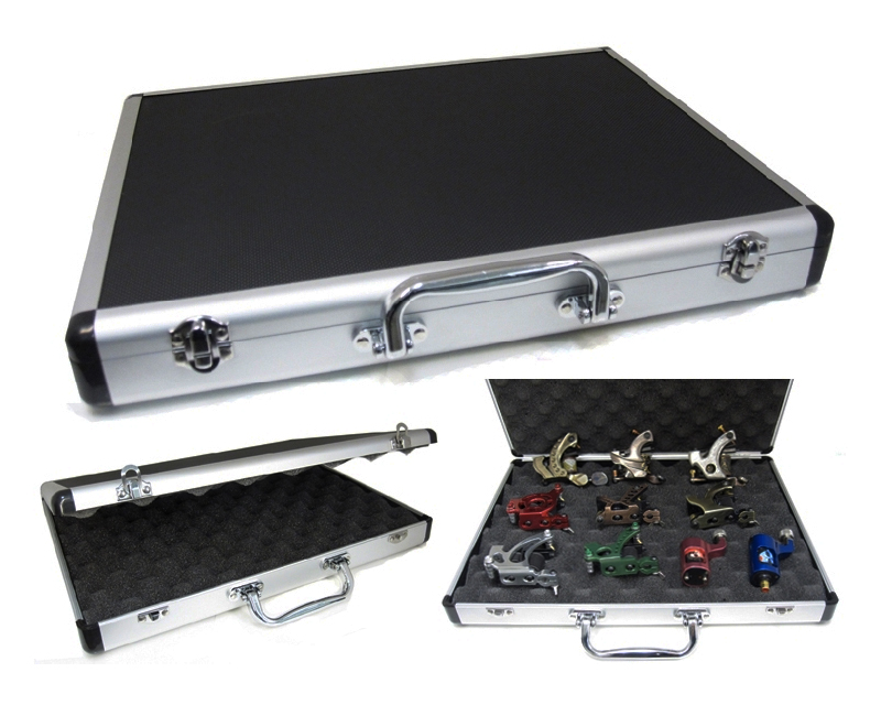 Large machine case machine cases tattoo cases for Tattoo machine case