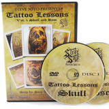Skull & Rose DVD by Steve Soto
