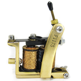 Classic Tattoo Machine (Brass)