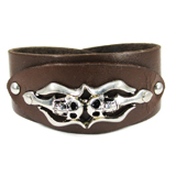 Brown Leather Cuff (Design C1)