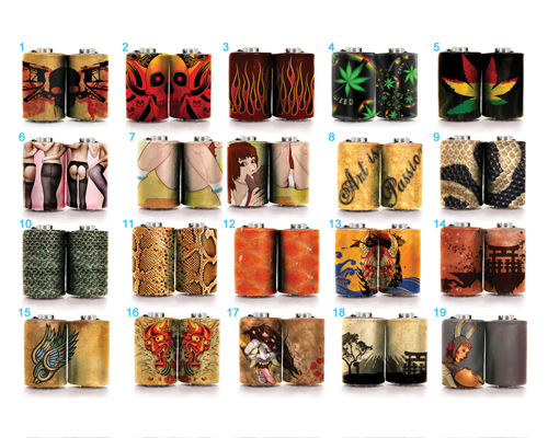 Ladies Stockings Coil Wrap Stickers