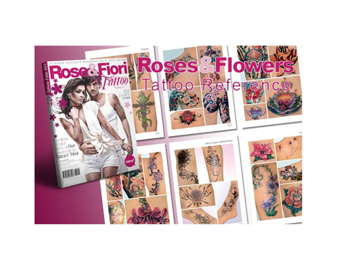 Roses flowers reference book 10 reference books for Tattoo reference books