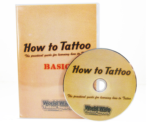 Basic tattoo dvd instructional dvds tattoo books for How to tattoo dvd