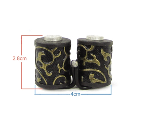 Damascus Tattoo Machine 8 Wrap Coils #5