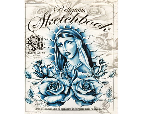 Crosses For Sale >> Religious Sketchbook #1 - Artist Flash Books - Tattoo Books & DVDS - Worldwide Tattoo Supply