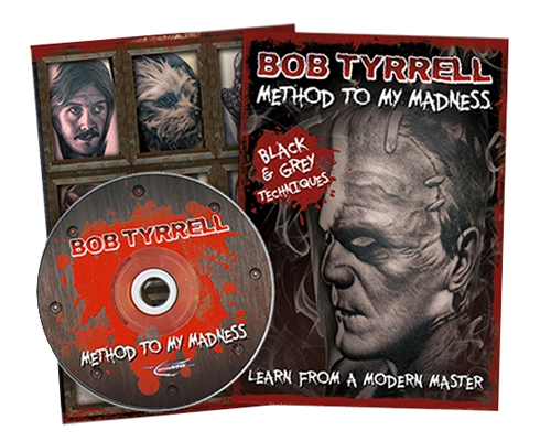 Bob tyrrell dvd instructional dvds tattoo books dvds for How to tattoo dvd