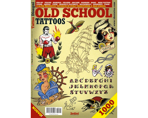 Old School Tattoos Flash Book