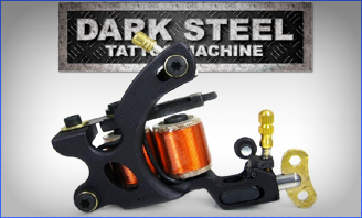 Dark Steel Tattoo Machine