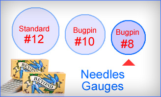 Beyond #8 Bugpin Needles