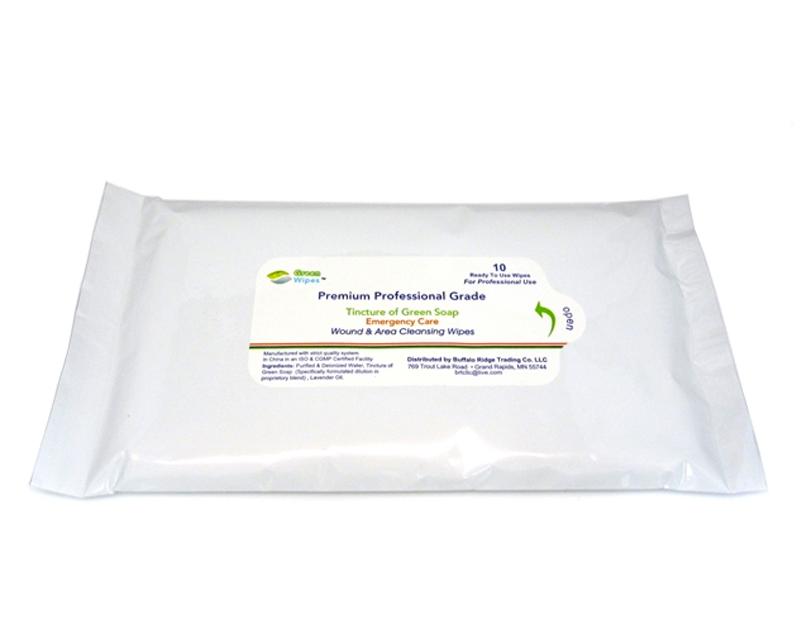 Green Soap Wipes 10-Wipes - Green Soap Wipes - Medical Supplies ...