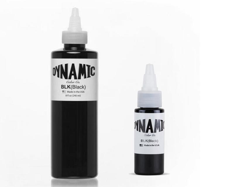 Black - Dynamic Colors - Tattoo Inks - Worldwide Tattoo Supply