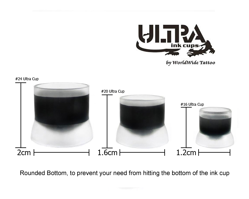 Ultra Ink Cups - Ink Cups & Holders & Accessories - Tattoo Inks