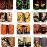 Marijuana 2 Coil Wrap Stickers