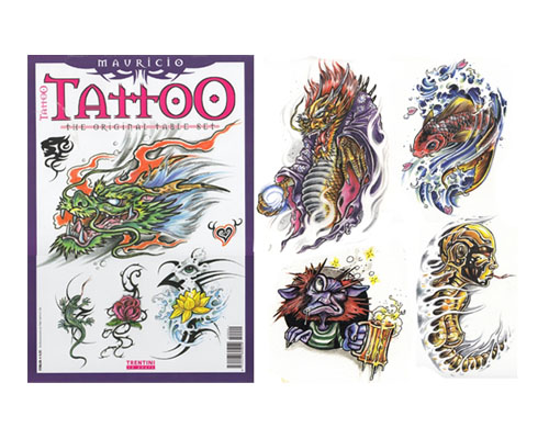 Mauricio Tattoo Flash Book 1