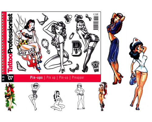 NEW Pro Pinups Flash Book #7