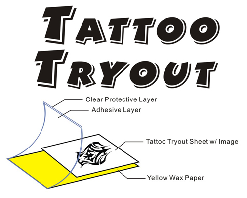 Tattoo TryOut Paper