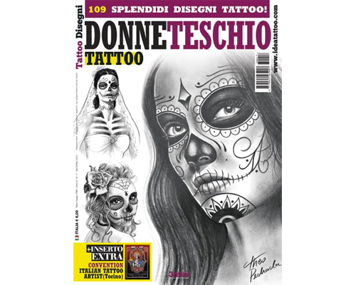 Day of the Dead Tattoo Flash Book