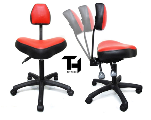 tat tech ergonomic stool silla para tatuar muebles