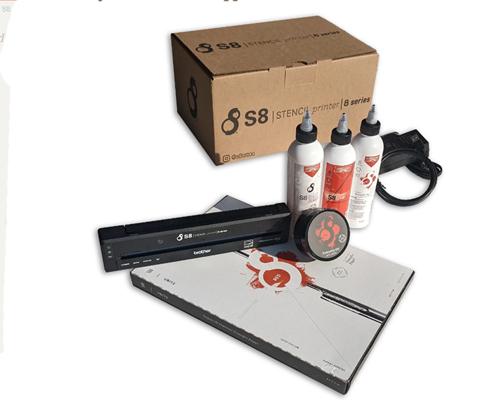 S8 Pocketjet Thermal Printer Stencil Thermal Transfer